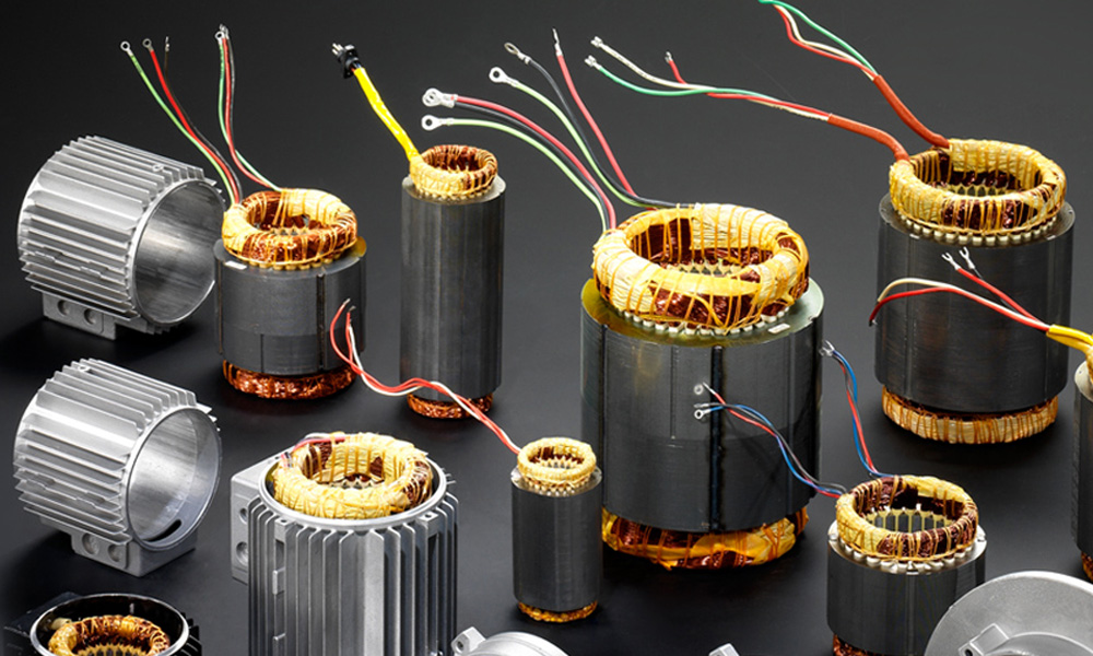 came-motor-components