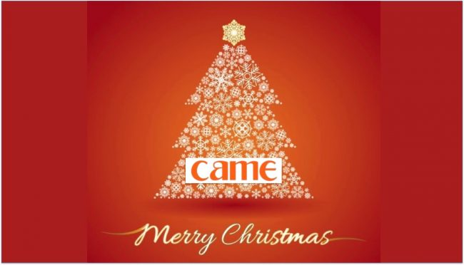 merry xmas 2016 from came
