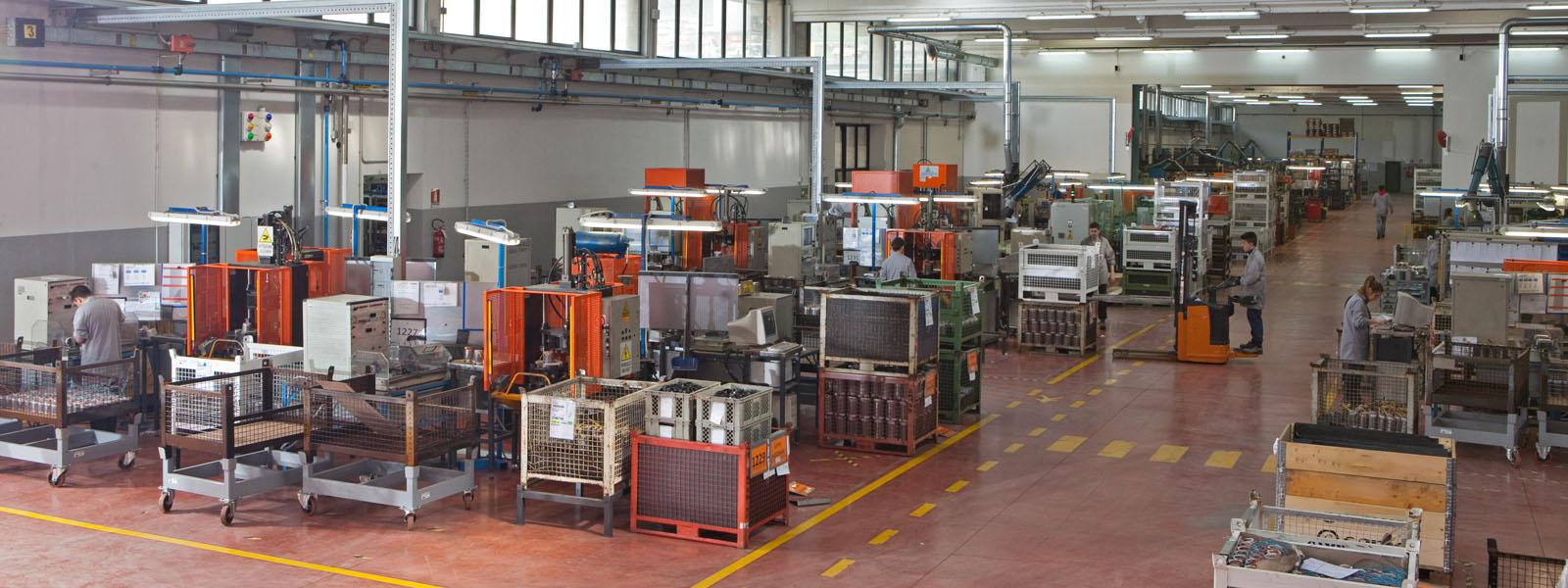 Abbiamo fatto nuovi investimenti nella produzione di avvolgimenti per motori elettrici BrushLess Direct Current
